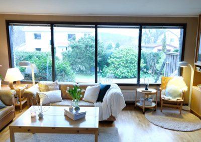 Homestyling vardagsrum höj värdet bostad